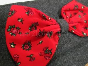 ONA-torebka 03-duża kopertówka  filcowa góralska folk grafitowa szara czarny czerwone różyczki kokarda-02