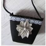 ONA-torebka 06- filcowa retro góralska folk grafitowa szara czarny biały ecru beż kwiat lniany koronka-04