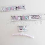 dziecko-literki 01-pastelowe kropeczki kwiatuszki ręcznie malowane krosna białe różowe miętowe beżowe -00