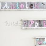dziecko-literki 01-pastelowe kropeczki kwiatuszki ręcznie malowane krosna białe różowe miętowe beżowe -06