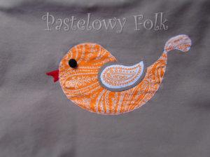 ONA-torebka 08- duza torba bezowa bez ptaszek folkowy folk aplikacja pomarańczowy biały ecru beż ptak rękodzieło jedyna unikatowa-02 logo