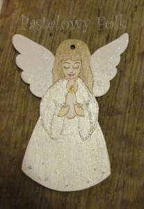 SWIETA choinka-aniołek 03_ drewniany biały perłowy srebrny_01