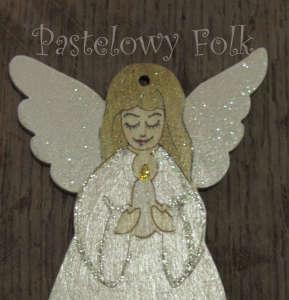 SWIETA choinka-aniołek 03_ drewniany biały perłowy srebrny_03