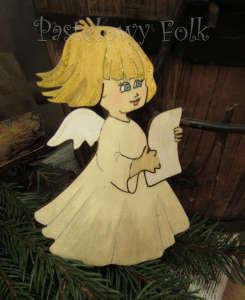 SWIETA choinka-aniołek 04_ drewniany biały perłowy srebrny_01