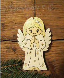 SWIETA choinka-aniołek 06_ drewniany biały perłowy złoty srebrny_01