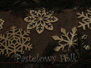 SWIETA choinka-zawieszka 04_ drewniana śnieżka bombka gwiazda brokat zimowa świąteczna srebrny szary_05