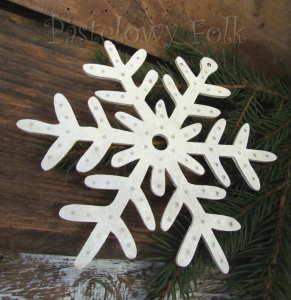 SWIETA choinka-zawieszka 10_ drewniana śnieżka duża gwiazda gwiazda brokat zimowa świąteczna biała perłowa_01 all