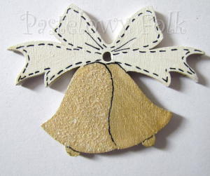 SWIETA choinka-zawieszka 19_ bilecik drewniane małe dzwoneczki brokat zimowa świąteczna biała złota_01