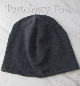 czapka 03-dzianinowa grafitowa-03