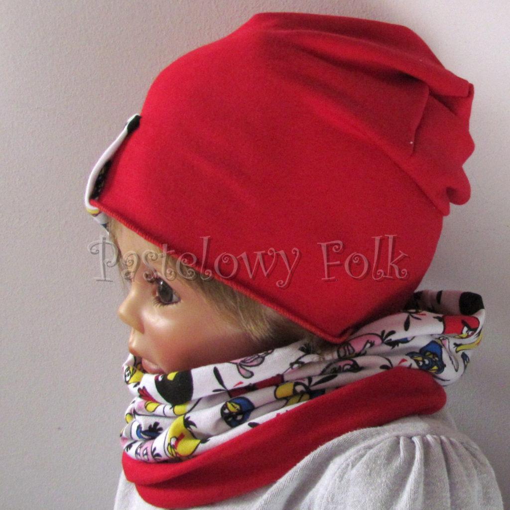dziecko-czapka-230-czerwona-z-biala-wszywka-angry-birds-kolorowekomplet-komin-03